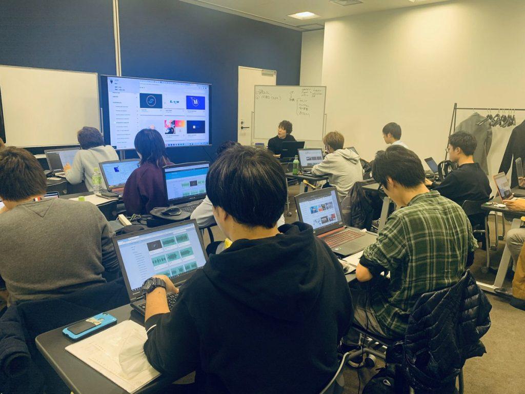 MOOCRESの授業風景